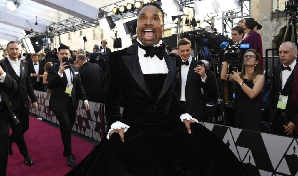 and the OSCAR goes to…. Billy Porter!!!